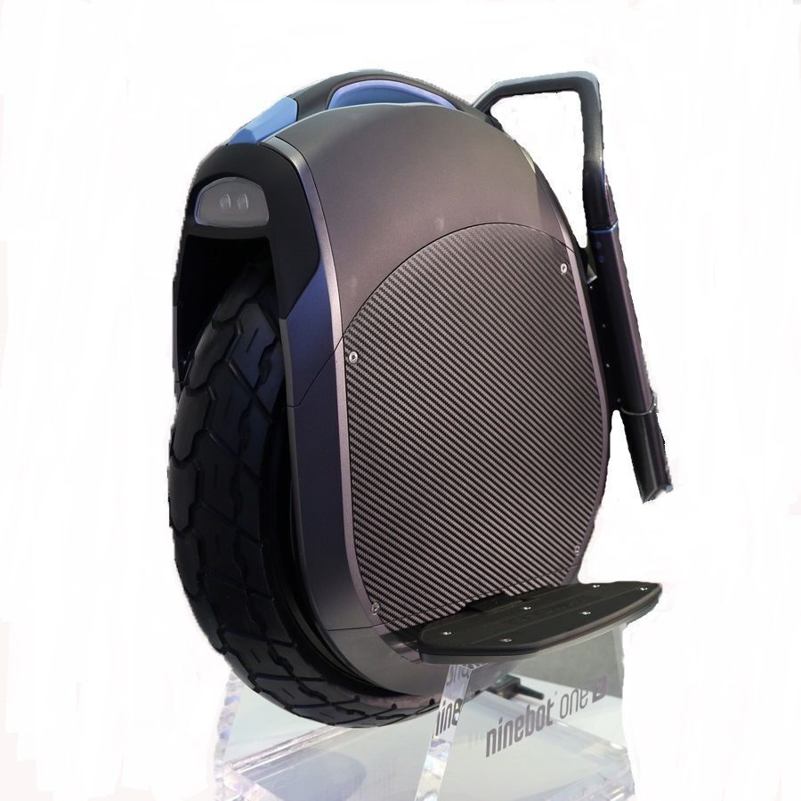 Ninebot One Z10 моноколесо с широкими шинами и отличной