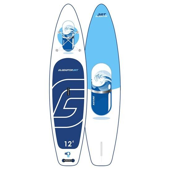 Gladiator ART NATURE 12'6 sup для сёрфинга