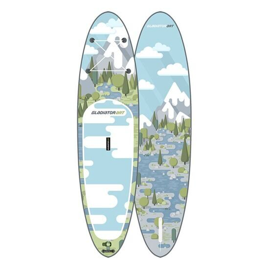 Gladiator ART FOREST 10'6 sup board прогулочный